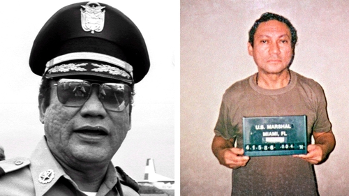 Manuel Noriega ruled Panama from 1983 to 1989