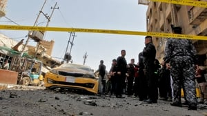 Car bomb exploded near one of the capital's main bridges