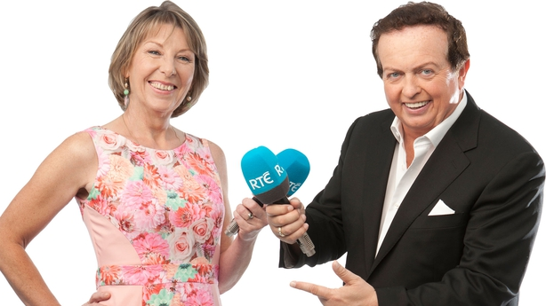 Aine Lawlor and Marty Morrissey