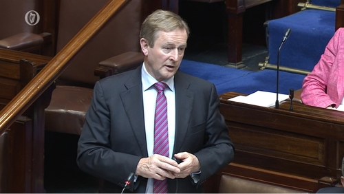 Enda Kenny said accuracy, veracity and truth will be established at the Charleton Inquiry