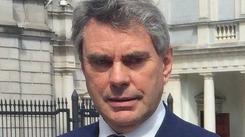 Michael Harty normally votes with the Government but has no formal agreement with it