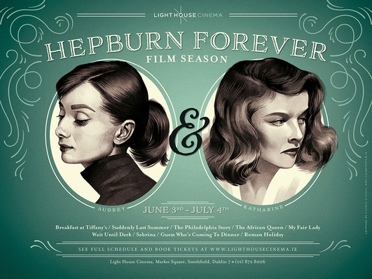 Hepburn Forever season at the Lighthouse Cinema