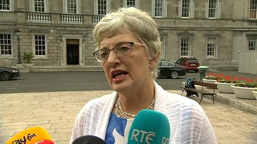 Katherine Zappone said Tusla is ready to sign a joint protocol with An Garda Síochána