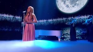 Leah Barniville - The teenager from Co Meath sang Parla Più Piano to a rapturous response