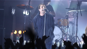 Liam Gallagher performs emotional hometown gig for Manchester attack victims