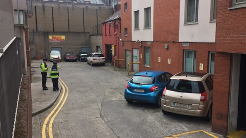 Man found shot dead in Dublin city centre auto  park