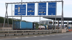 A ban on five axle trucks in Dublin city was introduced in 2007 following the opening of the port tunnel