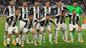 Juventus ahead of their semi-final second leg against Monaco