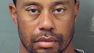 Tiger Woods was arrested last month on suspicion of driving under the influence