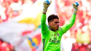 Ederson Moraes is on his way to Manchester City
