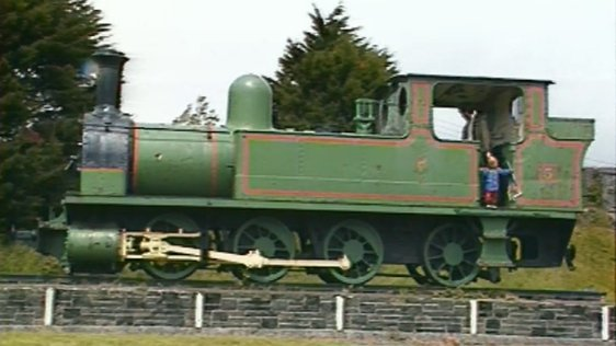 West Clare Railway engine