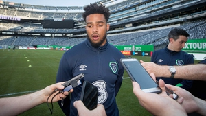 Cyrus Christie: 'He's a fantastic player and I've a lot to live up to.'