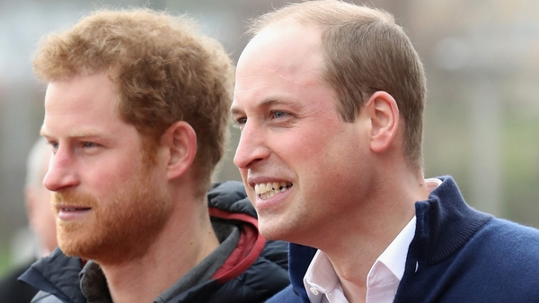 Princes William and Harry reportedly appear in a scene with Tom Hardy and Gary Barlow