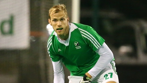 Conor Harte was on target for Ireland
