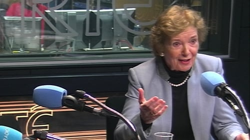 Mary Robinson said the US cannot formally leave the Paris agreement until 2020
