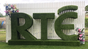 The RTÉ set at Bloom is home to live broadcasts, panel discussions and lots more all weekend