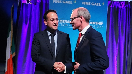Leo Varadkar and Simon Coveney met this afternoon