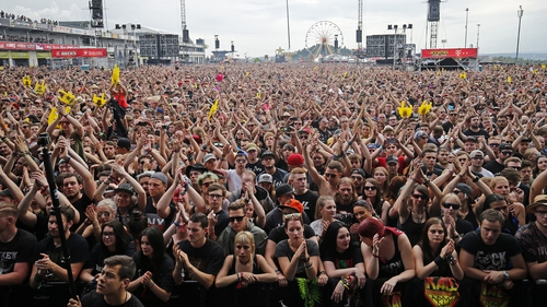 The three-day festival runs until Sunday