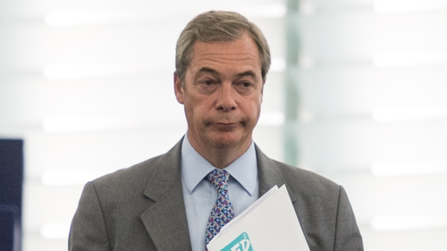 Nigel Farage quit as UKIP leader following the 2016 Brexit referendum result