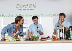There was some craic and lots of healthy egg based recipes at the Bord Bia tent with Roz Purcell and the O'Donovan brothers