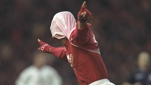 Fabrizio Ravanelli in his playing days at Middlesbrough