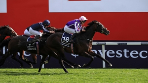 Wings Of Eagles won a shade cosily at Epsom
