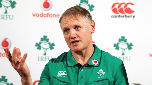 Joe Schmidt at a press conference in Carton House this week.