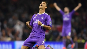 Cristiano Ronaldo was the star man once again for Real Madrid