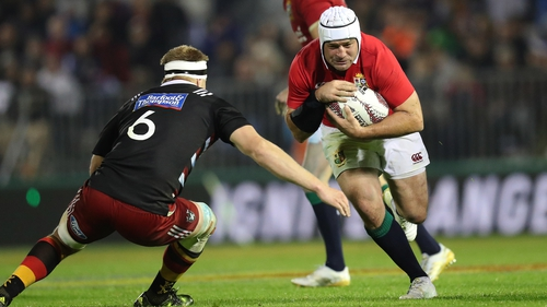 Rory Best leads the Lions against the Hurricanes
