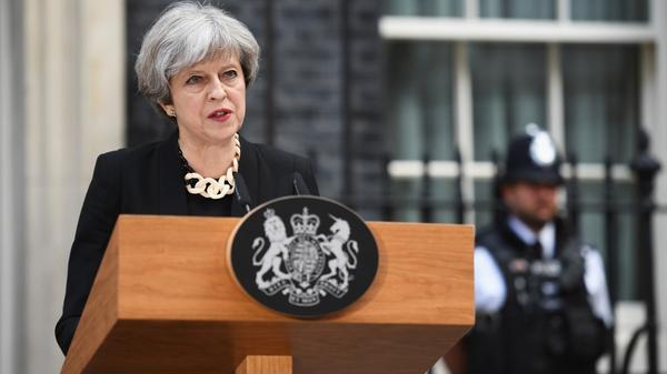 Theresa May said extremism has to be tackled