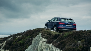 The Q5 comes with four wheel drive as standard.