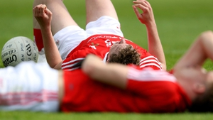 Louth players dejected after game