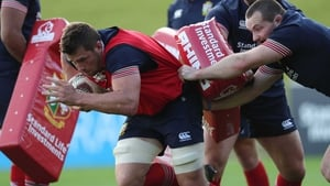 Stander in training with the British and Irish Lions