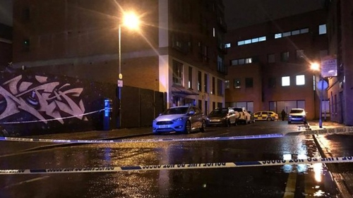 The incident occurred in Downshire Place near Belfast city centre