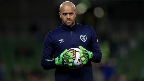 Darren Randolph is Ireland's first choice goalkeeper