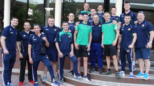 Team Ireland arrived in Kharkiv on Monday evening