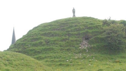 The new attraction will be developed at the site of Granard Motte in Co Longford (above)