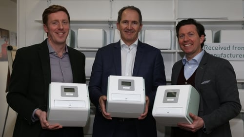 CEO Jim Joyce (R) said the growth of HealthBeacon in Ireland 'will enable our expansion into North America'