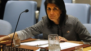 Nikki Haley said the US was looking carefully at its participation on the council