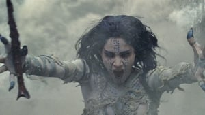 Sofia Boutella as mummy Princess Ahmanet