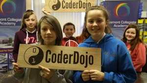 CoderDojo members in Dublin - founded in Ireland, the CoderDojo movement is expanding globally.