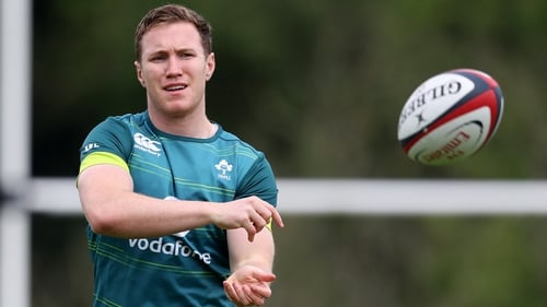 Rory O'Loughlin is one of eight uncapped players in the Ireland squad