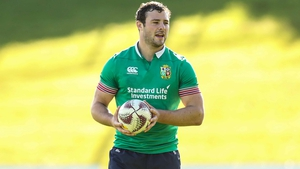 Robbie Henshaw will be joined in midfield by international team-mate Jared Payne against the Blues