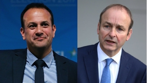 Leo Varadkar and Micheál Martin held talks today
