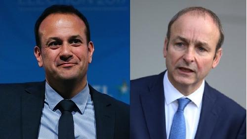 Leo Varadkar and Micheál Martin held talks today
