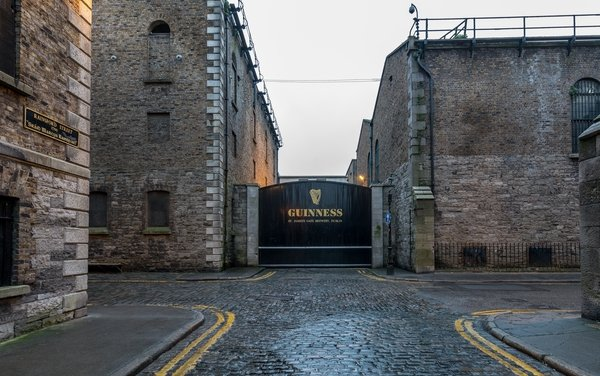 Guinness Storehouse - #1 fee-paying attraction in Ireland.