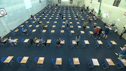 The number of students who sat the 2018 Leaving Cert exams is slightly down on last year