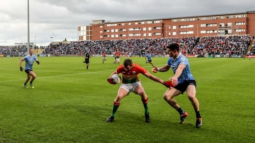 Carlow faced All-Ireland champions Dublin in Leinster last summer
