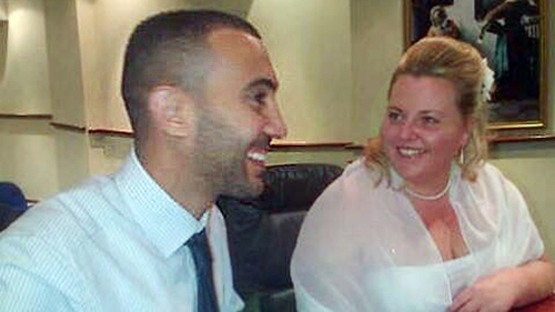 Charisse O'Leary and Rachid Redouane married in Ireland