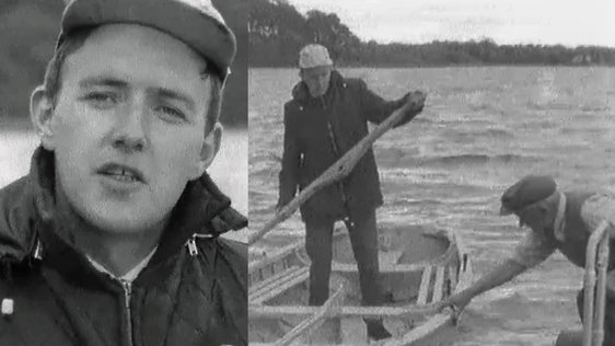 Bill O'Herlihy on Lough Derg